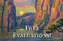 Free Evaluations of Birger Sandzen Paintings!