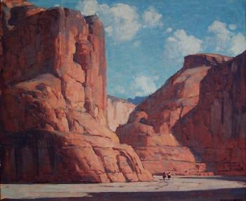 Edgar Payne - Canyon De Chelly, Monument Valley, Arizona